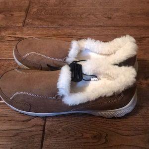 Danskin Now Shoes - Danskin slip on fur shoe!